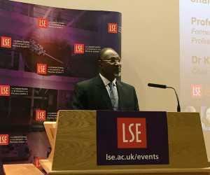 Photos Of Attahiru Jega Delivering A Speech At The London School Of Economics
